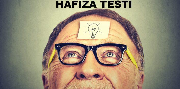 Hafıza Testi – Geçici Hafızanızın Sınırlarını Test Edin!