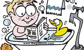 Çocuk ve Kitap – Çocuk Banyoda Bile Kitapla Karşılaşmalı